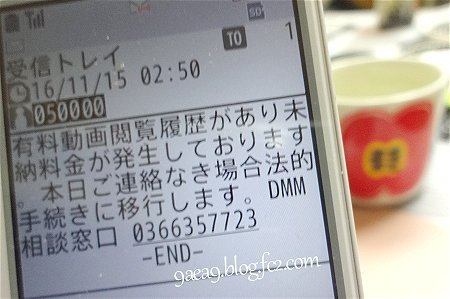 詐欺メール SMS 到着 (笑)2
