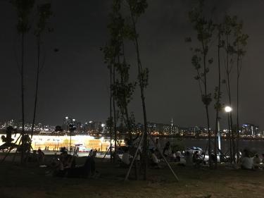 憩いの場、漢江