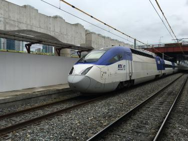 韓国の新幹線、KTXに乗るッ!