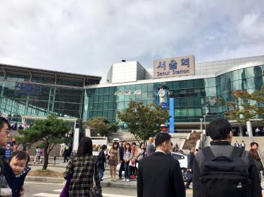 ソウル駅。