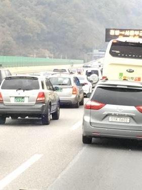 安定の・・渋滞w