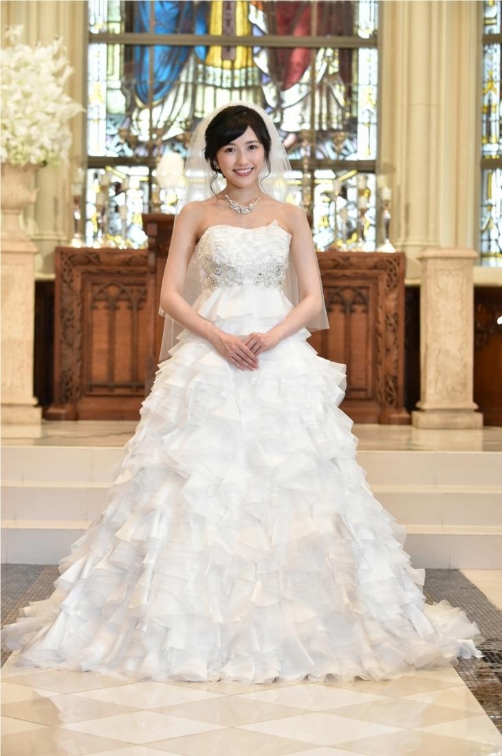 渡辺麻友 ウェディングドレス