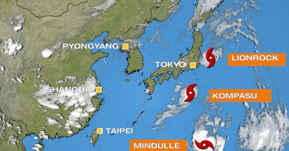 三つの台風