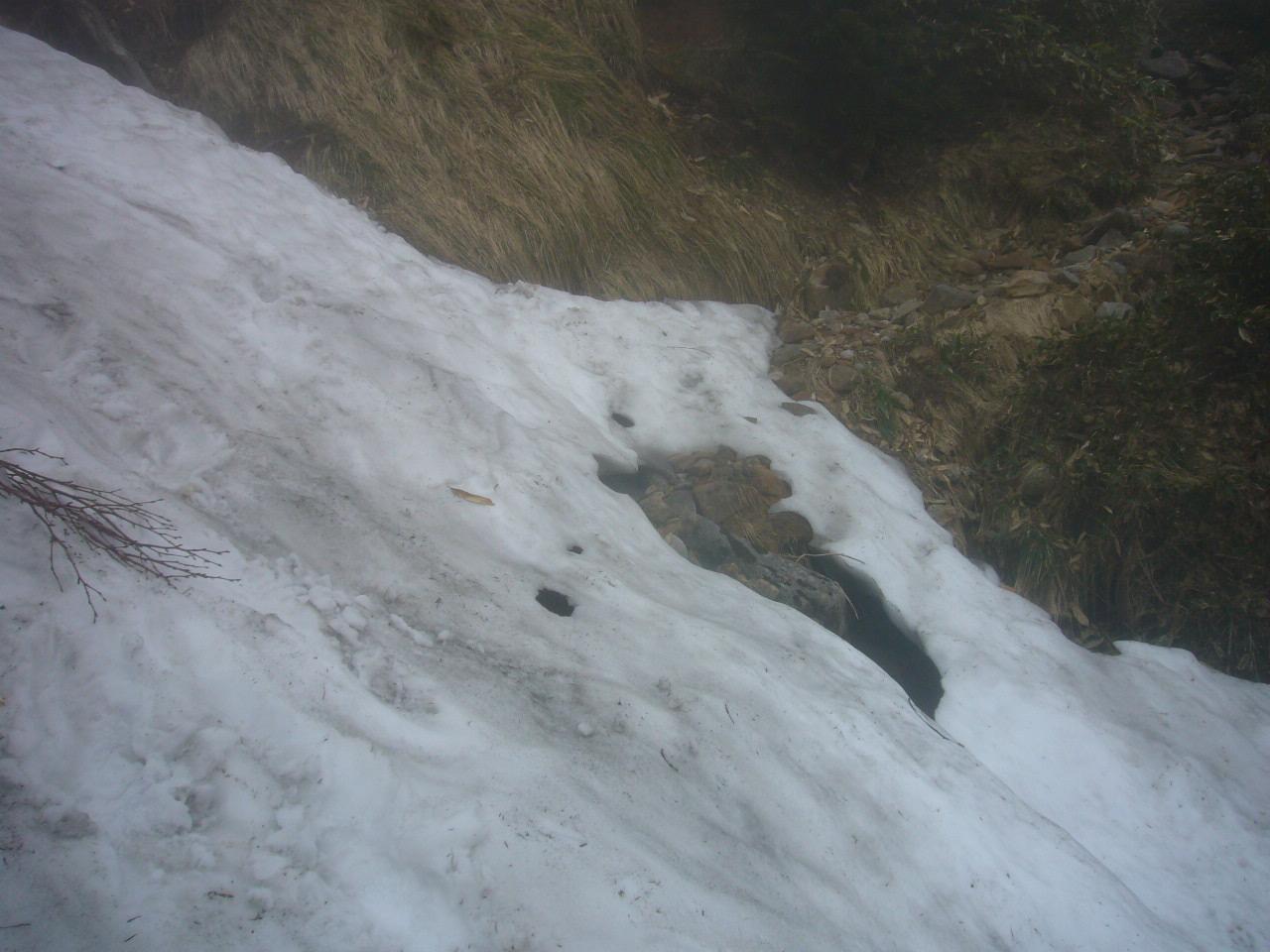 雪渓トラバース H28.5.28