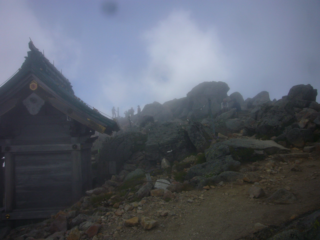 白山頂上付近 H28.8.01