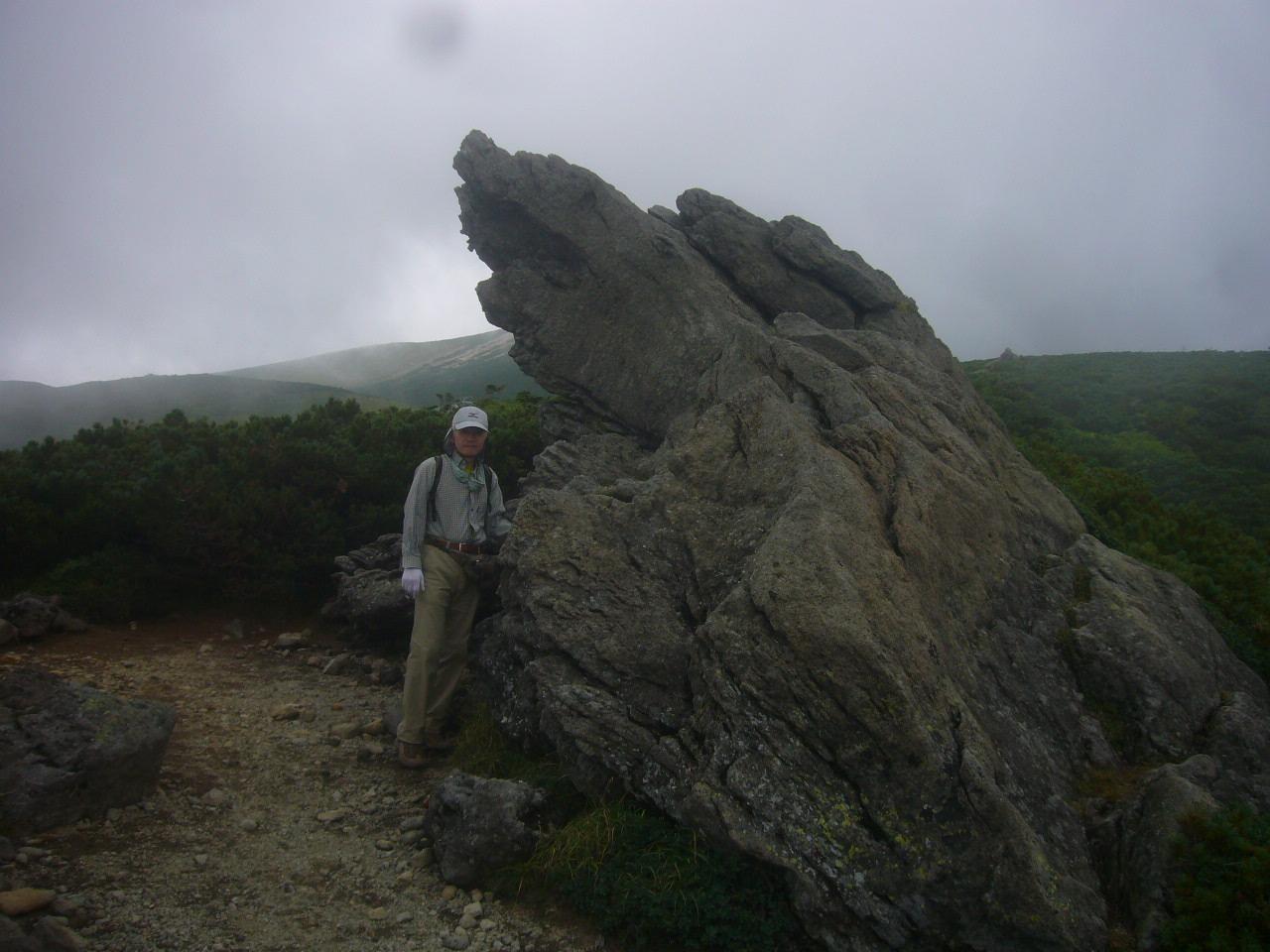 トンビ岩で H28.8.19