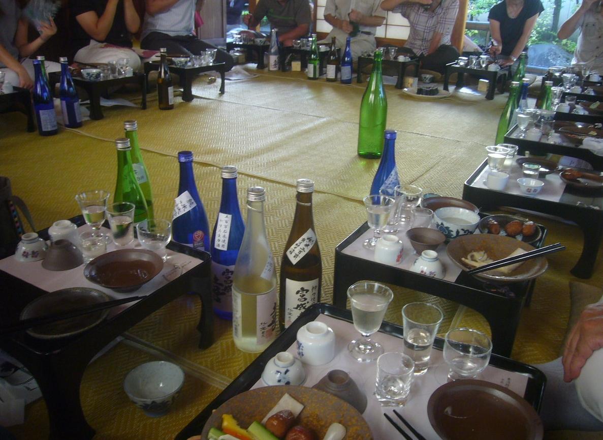 日本酒で宴会 H28.9.04
