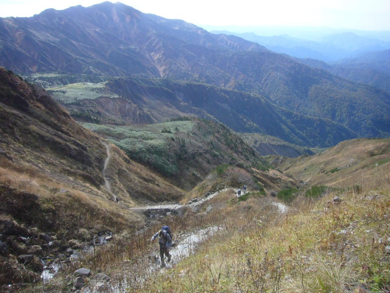 12曲り急登から 別山 H28.10.14