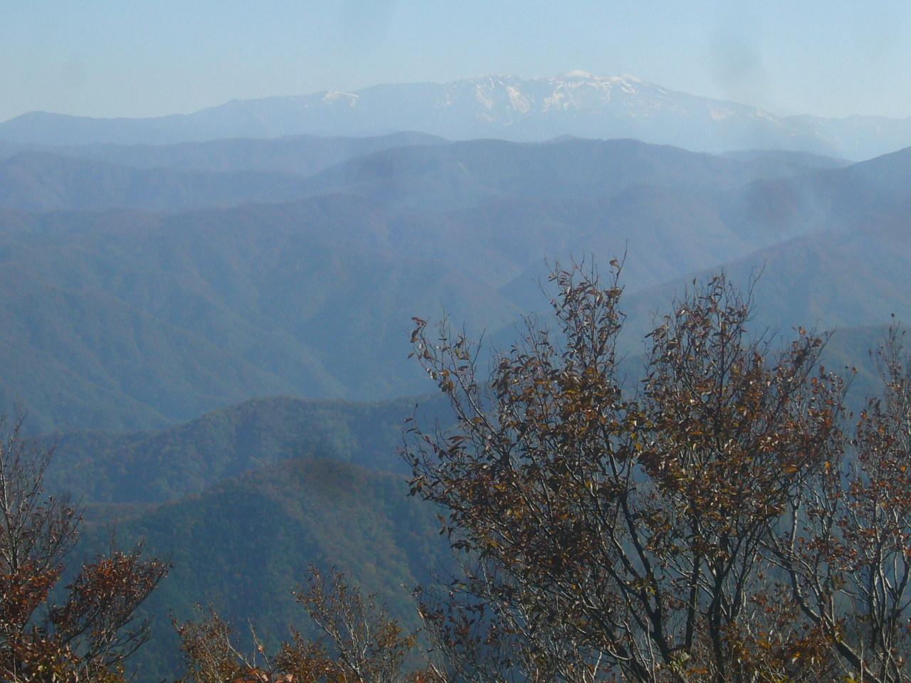 前山から白山 H28.11.05