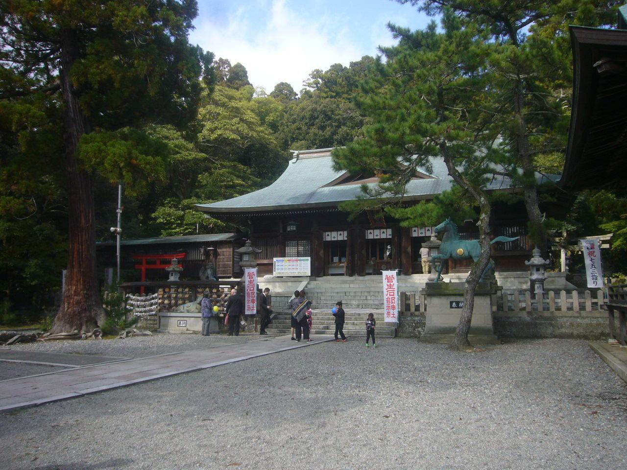 菅生石部神社 H28.11.06