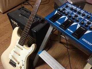 ギター、アンプ、エフェクター