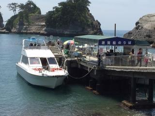 堂ヶ島 船