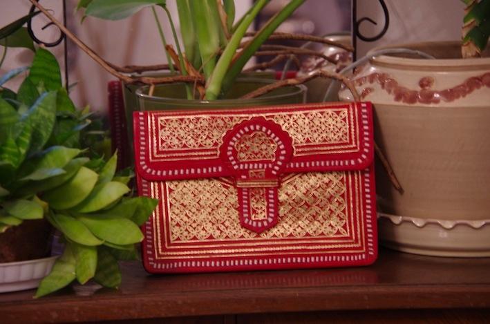 モロッコのクラッチバッグ