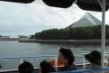 船から見たアクアミュージアム
