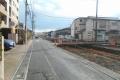 道路の拡張工事