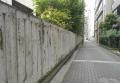 小学校の塀