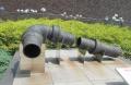 日本最古のガス管