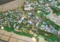山手地区の模型