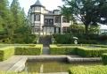 裏庭から見た外交官の家