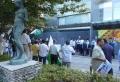 インド大使館前