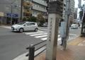 飯田町駅の石碑