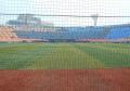 センターから見た横浜スタジアム