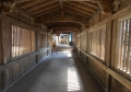 舟廊下(天井に注目)