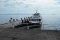 竹生島の船着き場