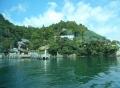 竹生島をあとに