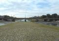 三角州から見る賀茂大橋