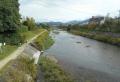 河合橋から見る高野川