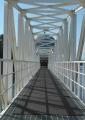 取水塔の渡し橋