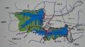 狭山湖・多摩湖の地図