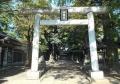 富の神明社・鳥居