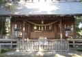 富の神明社・拝殿