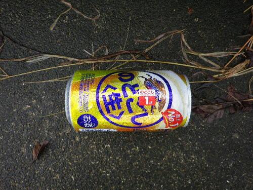 空き缶 2016 9 21-2