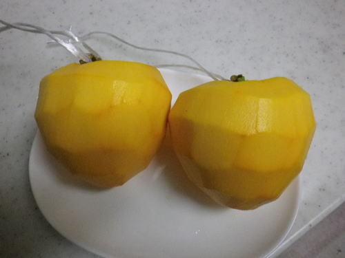 干し柿作り 2016 11 7-1