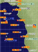 ルアンダ大海戦(ギニア湾・ナミビア沖)
