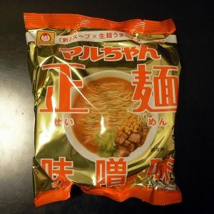マルちゃん正麺味噌味