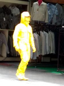 全身黄色マン