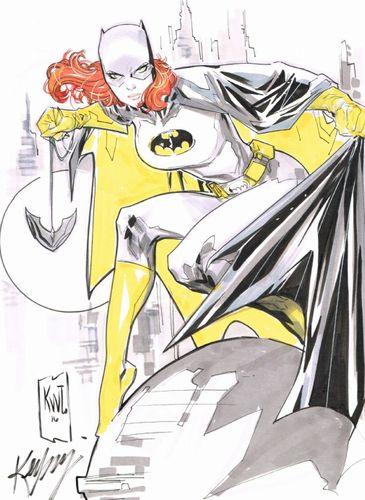 Ken Lashley batgirl