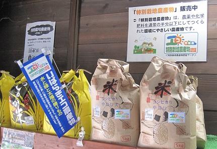 特別栽培 米