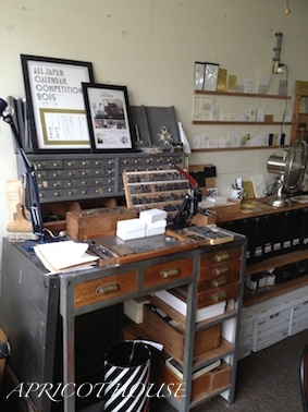 160602活版印刷室