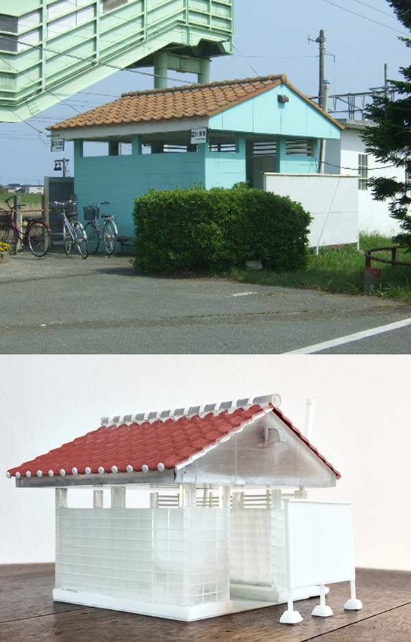 新地駅ジオラマ製作_2