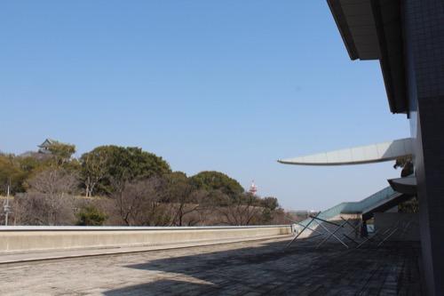 0080:和歌山県立近代美術館 突き出した庇①