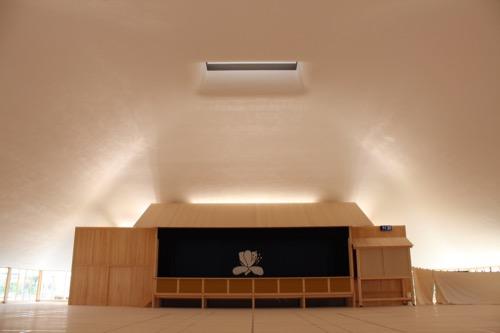 0083:直島ホール 内観全景①