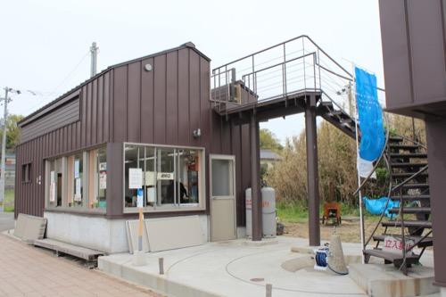 0084:沙弥島・西ノ浜の家 屋上への階段