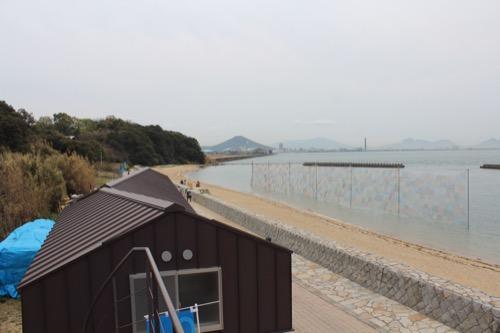 0084:沙弥島・西ノ浜の家 屋上からの眺め