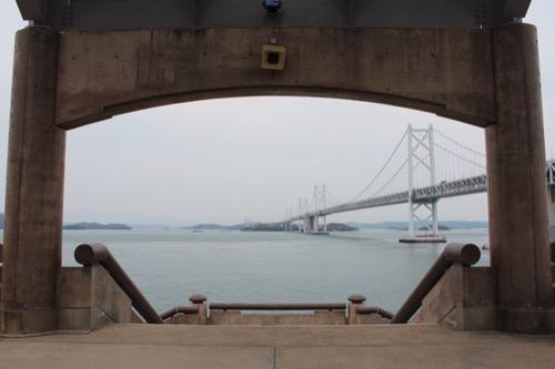 0085:瀬戸大橋記念館 展望台から瀬戸大橋をみる