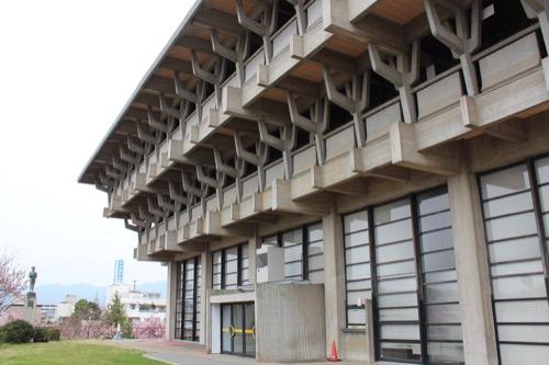 0086:津山文化センター 東側外観
